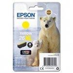 Epson oryginalny wkład atramentowy / tusz C13T26344012, T263440, 26XL, yellow, 9,7ml, Epson Expression Premium XP-800, XP-700, XP-600 C13T26344012