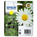 Epson oryginalny wkład atramentowy / tusz C13T18044020. T180440. yellow. 3.3ml. Epson Expression Home XP-102. XP-402. XP-405. XP-302 C13T18044020