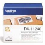 Brother etykiety papierowe 102mm x 51mm. biała. 600 szt.. DK11240. do drukarek typu QL DK11240