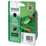 Epson oryginalny wkład atramentowy / tusz C13T054140. photo black. 550s. 13ml. Epson Stylus Photo R800. R1800 C13T05414010