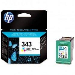 HP oryginalny wkład atramentowy / tusz C8766EE. No.343. color. 260s. 7ml. HP Photosmart 325. 375. OJ-6210. DeskJet 5740