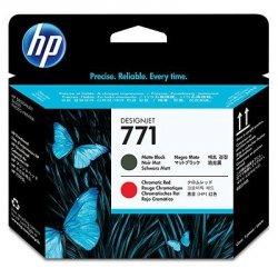 HP oryginalna głowica drukująca CE017A. No.771. matte black/chromatic red. HP Designjet Z6200