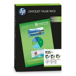 HP oryginalny wkład atramentowy / tusz F6U78AE. No.935XL. cyan/magenta/yellow. HP Officejet 6815. Officejet Pro 6230 ePrinter. 6830 F6U78AE