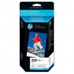 HP oryginalny wkład atramentowy / tusz CG846EE#301. No.300. cyan/magenta/yellow. blistr. 50szt. HP Deskjet D2560. F4280