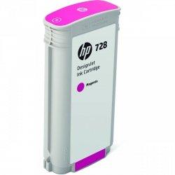 HP oryginalny wkład atramentowy / tusz F9J66A. No.728. magenta. 130ml. HP DesignJet T730. DesignJet T830. DesignJet T830 MFP F9J66A