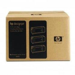 HP oryginalny wkład atramentowy / tusz C5083A. No.90. cyan. 3x400ml. 3szt. HP DesignJet 4000. 4000ps C5083A