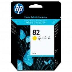HP oryginalny wkład atramentowy / tusz C4913A. No.82. yellow. 69ml. HP DesignJet 500. PS. 800. 815. cc800ps. 4200
