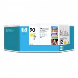 HP oryginalny wkład atramentowy / tusz C5065A. No.90. yellow. 400ml. HP DesignJet 4000. 4000ps. 4500