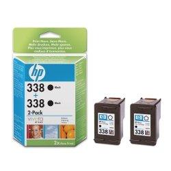 HP oryginalny wkład atramentowy / tusz No338 Ink Cart/bk with Vivera Ink 2pk