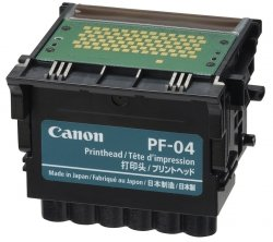 Canon oryginalna głowica drukująca PF04. black. 3630B001. ploter iPF-65x.75x