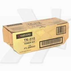 Kyocera Mita oryginalny toner TK310. black. 12000s. 1T02F80EU0. Kyocera Mita FS-2000D. DN. 3900DN. 4000DN 1T02F80EU0