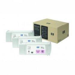 HP oryginalny wkład atramentowy / tusz C5071A. No.81. light magenta. 3x680ml. 3szt. HP DesignJet 5000. PS. UV. 5500. PS C5071A
