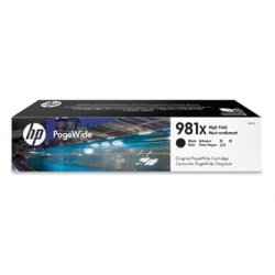 HP oryginalny wkład atramentowy / tusz L0R12A. No.981X. black. high capacity. HP PageWide MFP E58650. 556. Flow 586 L0R12A