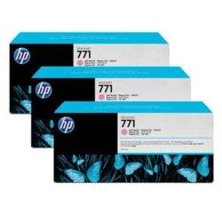 HP oryginalny wkład atramentowy / tusz CR254A. light magenta. 3x775ml. No.771. HP 3-Pack. Designjet Z6200
