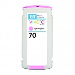 HP oryginalny wkład atramentowy / tusz C9455A. No.70. light magenta. 130ml. HP Designjet Z3100. Z2100