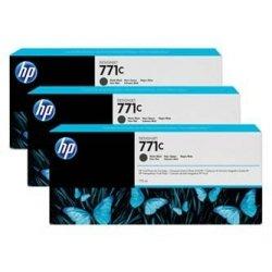 HP oryginalny wkład atramentowy / tusz B6Y31A. No.771C. matte black. 3szt. HP Designjet Z6200 B6Y31A