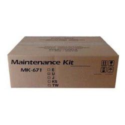 Kyocera Mita oryginalny maintenance kit MK671. 1702K58NL0. 300000s. Kyocera KM-2560.3060.2540.3040.TASKalfa 300i. TA DC-2325