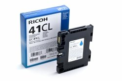 Ricoh oryginalny żelowe wypełnienie 405766. cyan. 600s. GC41C. Ricoh AFICIO SG 2100N