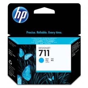 HP oryginalny wkład atramentowy / tusz CZ130A. No.711. cyan. 29ml. HP Deskjet T120. T520 CZ130A