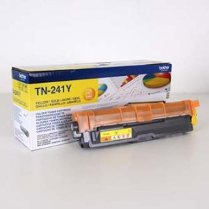 Brother oryginalny toner TN241Y. yellow. 1400s. Brother HL-3140CW. 3170CW TN241Y