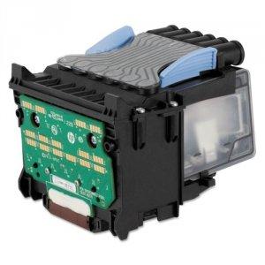 HP oryginalny Zestaw do wymiany głowicy B3P06A. CMYK. HP DesignJet T1500. T2500. T920 B3P06A