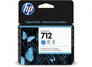 HP Tusz 712 29-ml Cyan DesignJet Ink