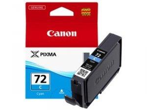 Canon oryginalny wkład atramentowy / tusz PGI72C. cyan. 14ml. 6404B001. Canon Pixma PRO-10 6404B001