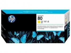 HP oryginalna głowica drukująca C4823A. No.80. yellow. HP DesignJet 1050C. 1055CM C4823A