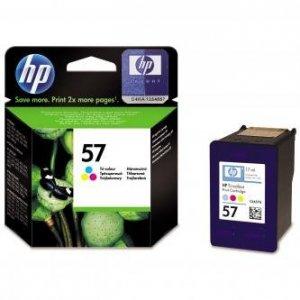 HP oryginalny wkład atramentowy / tusz C6657AE. No.57. color. 500s. 17ml. HP DeskJet 450. 5652. 5150. 5850. psc-7150. OJ-6110 C6657AE#UUQ