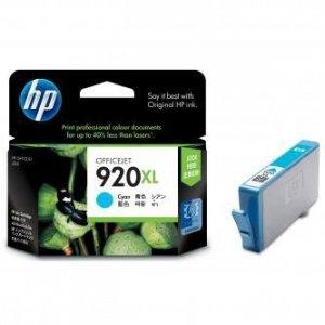 HP oryginalny wkład atramentowy / tusz CD972AE#BGY. No.920XL. cyan. 700s. HP Officejet CD972AE#BGY