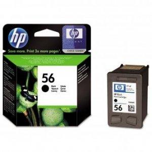 HP oryginalny wkład atramentowy / tusz C6656AE. No.56. black. 520s. 19ml. HP DeskJet 450. 5652. 5150. 5850. psc-7150. OJ-6110 C6656AE
