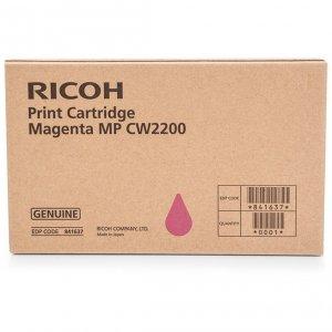 Ricoh oryginalny wkład atramentowy / tusz 841637. magenta. Ricoh MPC W2200SP 841637