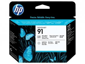 HP oryginalna głowica drukująca C9463A. No.91. photo black/light grey. HP DesignJet Z6100 C9463A
