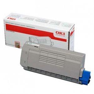 OKI oryginalny toner 44318657. white. 6000s. OKI C710. C711 44318657