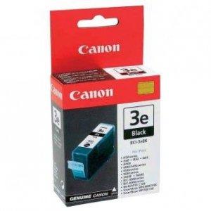 Canon oryginalny wkład atramentowy / tusz BCI3eBK. black. 500s. 4479A002. Canon BJ-C6000. 6100. S400. 450. C100. MP700 4479A002