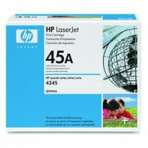 HP oryginalny toner Q5945A. black. 18000s. 45A. HP LaserJet 4345mfp. M4345mfp Q5945A