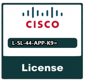 Cisco Licencja AppX license with 1300 conns/ISRWAAS or L-SL-4350-APP-K9=