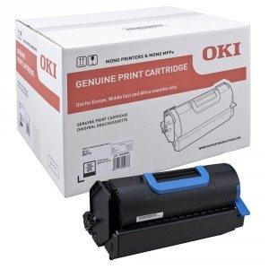 OKI oryginalny toner 45439002. black. 36000s. OKI MB770. B731 45439002