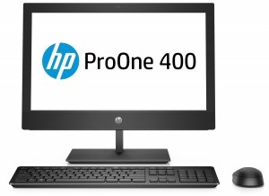 Komputer All-in-One ProOne 400 G5  i3-9100T 1TB/8GB/DVD/W10P 7EM87EA 7EM87EA