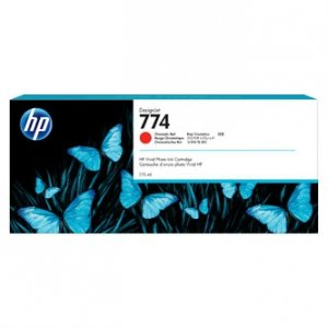 HP oryginalny ink P2W02A, HP 774, chromatic red, 775ml, HP HP DesignJet Z6810 P2W02A