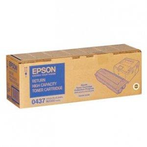 Epson oryginalny toner C13S050437. black. 8000s. return. Epson AcuLaser M2000D. 2000DN. 2000DT. 2000DTN C13S050437