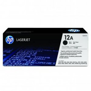 HP oryginalny toner Q2612A. black. 2000s. 12A. HP LaserJet 1010. 1012. 1015. 1020. 1022. 3015. 3020 Q2612A