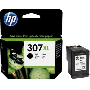 HP oryginalny ink / tusz 3YM64AE, black, 400s, HP 307XL, Extra high yield, HP ENVY 6010,6020,6030,6052,ENVY PRO 6420,6430,6455
