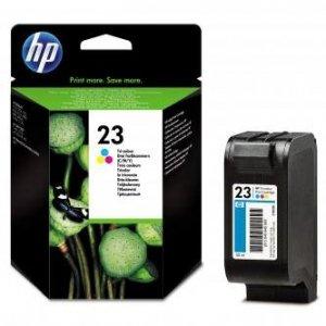 HP oryginalny wkład atramentowy / tusz C1823D. No.23. color. 640s. 30ml. HP DeskJet 710C. 890C. 895. 1120C. 1125C. OJ-psc500 C1823DE