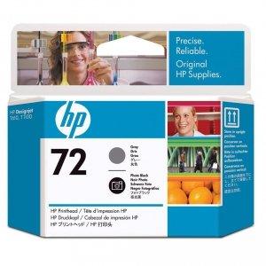 HP oryginalna głowica drukująca  72 Czarna & Szara Fotograficzna C9380A C9380A