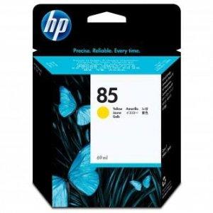 HP oryginalny wkład atramentowy / tusz C9427A. No.85. yellow. 69ml. HP DesignJet 30. N. GP. DesignJet 130. NR. GP C9427A