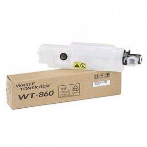 Kyocera Mita oryginalny pojemnik na zużyty toner WT-860. 25000s. 3500i. 4500i. 5500i. 3050ci 1902LC0UN0