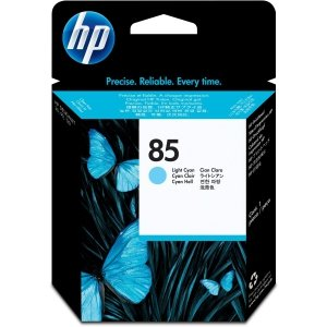 HP oryginalna głowica drukująca No85 Printhead/Fade resist Light Cyan C9423A