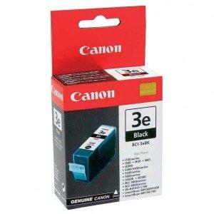 Canon oryginalny wkład atramentowy / tusz BCI3eBK. black. 500s. 27ml. 4479A297. 4479A277. blistr z ochroną. Canon BJ-C6000. 6100. 6200. S400. 450 4479A277