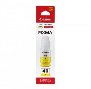 Canon oryginalny ink / tusz 3402C001, yellow, 7700s, 70ml, GI-40 Y, Canon PIXMA G5040,G6040